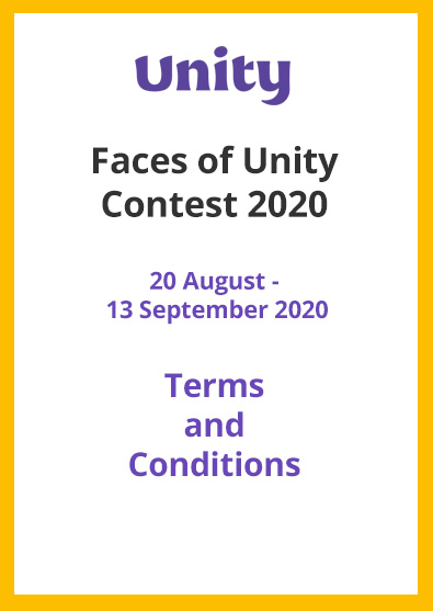 Unity Faces of Unity Contest 2020