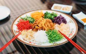 Healthy Yu Sheng Recipe