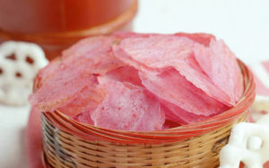 Dragon Fruit Potato Chips